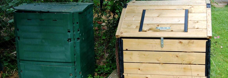composteur bois ou plastique
